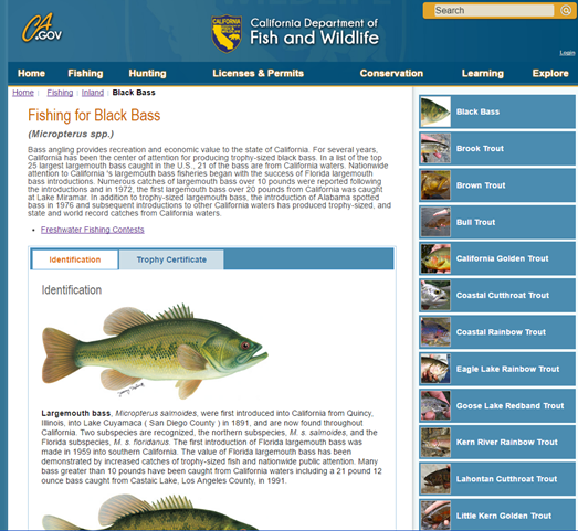 What is fishing license in california fishing and for Where to buy california fishing license
